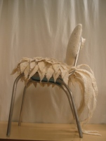 Chair with Felt Plumage