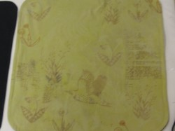 Naturally Dyed Cushion Cover 8